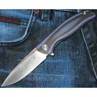 Нож Широгоров F3 MINI, подшипник, синий (REPLICA)