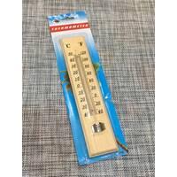 Термометр вуличний дерев'яний / СН076