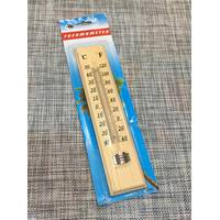 Термометр уличный деревянный / СН076