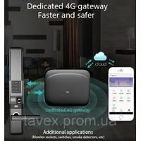 Замок с комбинированным доступом, подключением датчиков/исполнителей и 4G оповещением