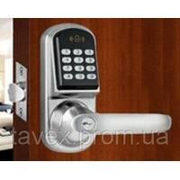 Замок електронний з доступом по кодовій клавіатурі і безконтактній картці LOCKSTAR - 8015