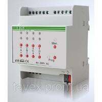 KNX 4-канальный модуль управления шторами/жалюзи