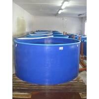Бассейн круглый для рыборазведения объёмом 4,5 м3, полипропилен