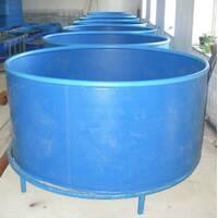 Бассейн круглый для рыборазведения объёмом 1,5 м3, полипропилен