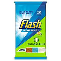 Антибактериальные салфетки для уборки Flash anti-bac plus 10 шт Бельгия