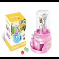 Іграшка Кран ловець кульок і цукерок D Jin Shaung Lu Рожевий