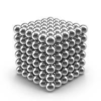 Конструктор-головоломка UTM Neocube 216 кульок Silver