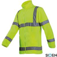 Блуза сигнальная рабочая флисовая SI-SHELFORD Y S