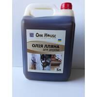Олія лляна для дерева, 5 л купити в Тернополі