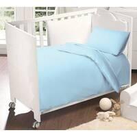 Комплект постельного белья для мальчика. 3 предмета. Цвет голубой