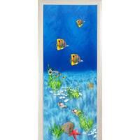 3D двери Тропические рыбки 8496, 70х200 см