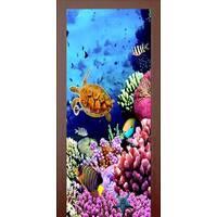 3D двери Жители рифа 9202, 70х200 см