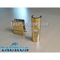 Маскувальний комплект, GOLD з накладкою О-формы   трубка   фланець  для електричного Тэна Heatpol H, Польща