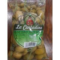 Оливки La Contadina большие с косточкой 850 г Италия