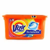Капсулы для стирки Vizir колор 3 в 1 41 шт