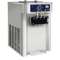 Фризер настольный для мягкого мороженого RB 3122ВPA (с воздушной помпой и мешалкой в бункере), 30 литров в час.