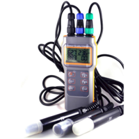 Киснемір / рН-метр / кондуктометр / солемір (4 в 1) AZ-8603