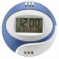Электронные настенные часы Kenko КК 6870 с термометром (случайный цвет) (1229) #S/O
