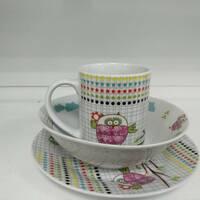 Набор детской посуды Milika Sweet Couple M0690 - TH5849