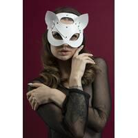 Маска кішки Feral Feelings - Catwoman Mask біла