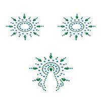 Пэстис Petits Joujoux Gloria set of 3 - Green/Blue