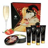 Подарунковий набір Shunga GEISHAS SECRETS - Sparkling Strawberry Wine