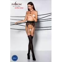 Еротичні колготки TIOPEN 003 nero 3/4 (20/40 den) - Passion