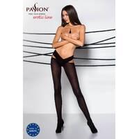 Еротичні колготки TIOPEN 005 nero 3/4 (60 den) - Passion