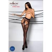 Еротичні колготки TIOPEN 002 nero 3/4 (20 den) - Passion