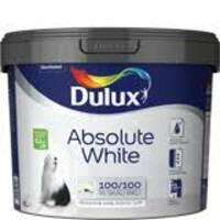 "Dulux ""ABSOLUTE WHITE"" водоемульсійна фарба для стін і стель 9,0 л."
