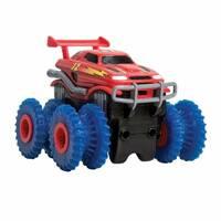 Машинка Trix Trux Monster Truk для канатного детского трека монстр-траки Красная
