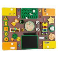 Бизиборд BrainUp Smart Busy Board настольная развивающая игра доска из 35 деталей XL60*80см (6006_2)