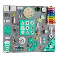 Бизиборд BrainUp Smart Busy Board настольная развивающая игра доска из 30 деталей L60*70 см (6005_3)