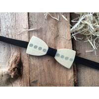 Деревянная бабочка галстук флоуресцентная ручной работы Модель №1
