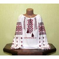 вышитая рубашка для девочки ручной работы недорого