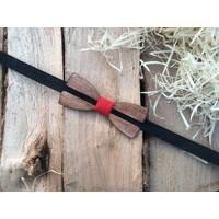 Деревянная бабочка галстук флоуресцентная ручной работы Модель №3
