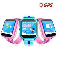 Детские умные GPS часы телефон трекер Smart Baby Watch Q750 c сенсорным экраном, Wi - Fi и играми (синие)