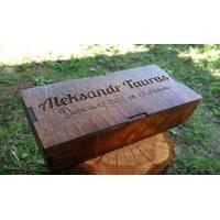 Деревянная подарочная упаковка