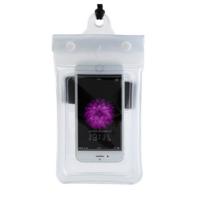 Чехол водонепроницаем для мобильных телефонов TRAVELSKY с ремешком 22*11см Белый (3485)