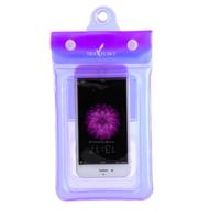 Чехол водонепроницаем для мобильных телефонов TRAVELSKY с ремешком 22*11см Фиолетовый (3488)