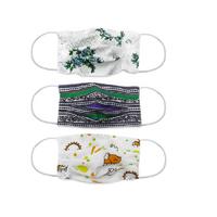 Маска многоразовая хлопковая на резинке, Текстиль Контакт