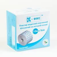 Пластир еластичний фіксувальний на нетканинній основі К-фикс 10м х 5см №1 Калина