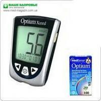 Акционный набор Глюкометр Optium Xceed (Оптиум Эксид™ ) + 150 тест-полосок ,(ABBOTT, США)