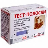 Акційний набір Глюкометр Gamma MINI   2 уп. тест-полосок ( по 50 шт.)