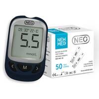 Акционный набор! Глюкометр NEO + 50 тест-полосок NewMed