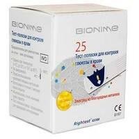 Тест-полоски GS300, Bionime Rightest, 25 шт.