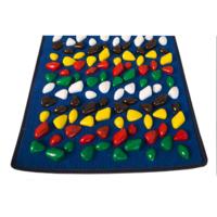 Коврик массажный Ортопед 100х40 см (синий ковролин) OnhillSport
