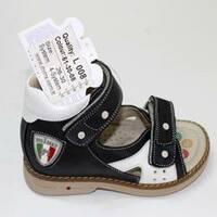 Дитячі ортопедичні босоніжки для хлопчиків Mimy арт.L 008, мод.51-30-08, (Туреччина)
