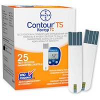 Тест-полоски для CONTOUR TS, 25 шт.