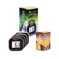 Акційний набір Глюкометр Wellion Calla Light з 50 тест-полосками в комплекті (Австрія)